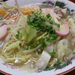 白石食堂 - 料理写真:チャンポン