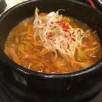 レストラン京泉 - 料理写真:ユッケジャンチゲ ハーフ