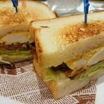 53911144 - 照り焼きチキン玉子サンドセット