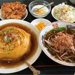 勝つ山 - 天津飯定食