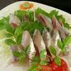 ひろしま亭 - 料理写真:イワシ刺身(500円)