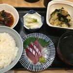 スタンドふじ - 刺身定食☆
