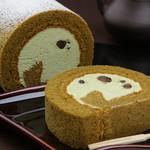 福菱 Kagerou Cafe - 白浜銘茶『川添茶』を使用した川添茶ロール