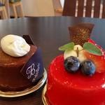 福菱 Kagerou Cafe - クラウディアショコラ / プリンセスフランボアーズ