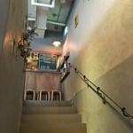 ロンドクレープリー - 店内階段