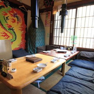 【2F】お座敷完全個室完備★
