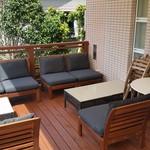 福菱 Kagerou Cafe - テラスにはソファー席がございます。