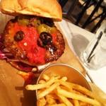 53916253 - Angry Hot Burger