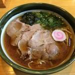 麺屋 藤 - 醤油ラーメン大