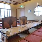 亀喜寿司 - 大広間に通されました