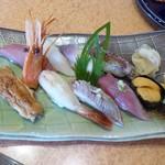 亀喜寿司 - 季節盛り合わせ