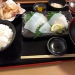 銀蔵 - 剣さきイカ定食