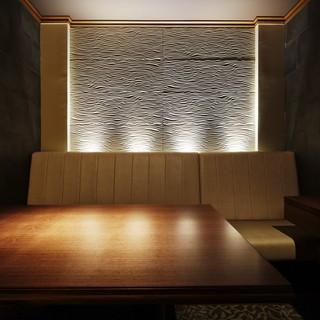 優雅な個室大小7つの雰囲気の完全個室を完備