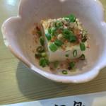 とんかつ宮島 - お豆腐