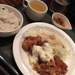 きのこ料理とアボカド料理の専門店 きのこの里 - チキン南蛮ランチ