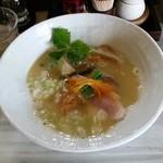 53924798 - 鶏白湯パプリカ麺ver750円