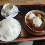 馬美舞辺母 - ランチ煮込みハンバーグ890円