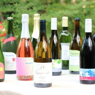 長野県産のワインに拘る