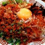 ラーメンつけ麺 三男坊 - まぜそば(三男):800円