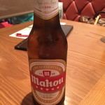 銀座びいどろ - スペイン(マドリード)ビール マオウ税込756円。