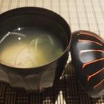 魚菜 基 - 入梅鰯のつみれ汁 2016年6月:7,000円のコース
