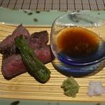 魚菜 基 - 武州牛 2016年6月:7,000円のコース