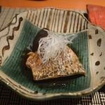 魚菜 基 - のど黒の煮付け 2016年6月:7,000円のコース