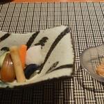 魚菜 基 - 箸休め? 2016年6月:7,000円のコース