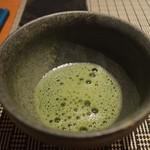 魚菜 基 - 抹茶 2016年6月:7,000円のコース