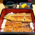 橋本屋 - 蒲焼き(特上)+お重セット