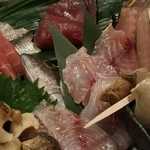 Gyokainonobu - 刺身盛り合わせ