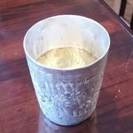 ライカノ - お冷やのコップもタイっぽい