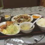中国料理 多喜屋 - 回鍋肉定食。