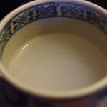 胡蝶庵 仙波 - 蕎麦湯
