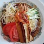 中一素食店 - 冷やし中華980円