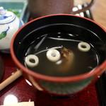 みよし亭 - 肝吸い