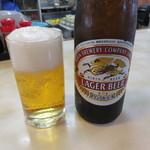 きさらぎ亭 - キリンラガービール(中瓶)