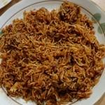インドレストラン&バー ガジニ Ghajini - ビーフビラニ