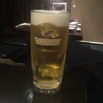 炭火ほるもん ひとすじ - 生ビール