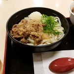 松屋 - ぶっかけ肉おろしうどんミニ牛めしセット630円