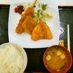 レストラン 時之栖 - 駿河ミックスフライ定食