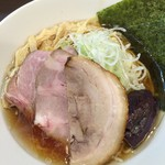 麺屋りゅう - 冷やしラーメン(醤油)(アップ)