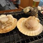 浜焼太郎 - ホタテ サザエ