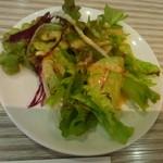 石水亭 - セットのサラダ