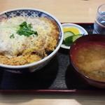 中の茶屋 - かつ丼 750円