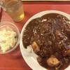 河内長野市町食堂 - 料理写真:スタミナ牛すじカレー 648円 2016.07.23