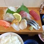 新港食堂 - 盛り合わせ定食