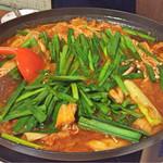 韓国自宅ごはん  呉 - 和牛ホルモン鍋
