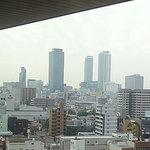 クラウン - 鉄板焼きからは名古屋駅方向の夜景が奇麗に見える。