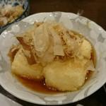 あいちゃん - 揚げ出し豆腐。